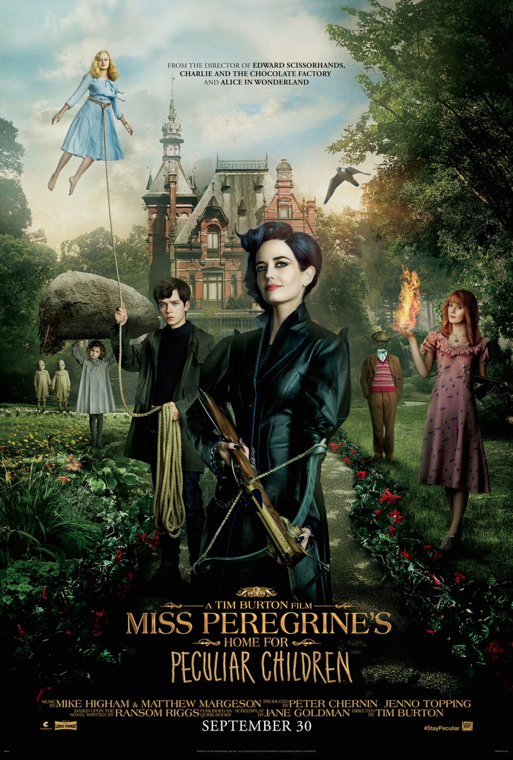 Miss Peregrine and the Home for Peculiar Children